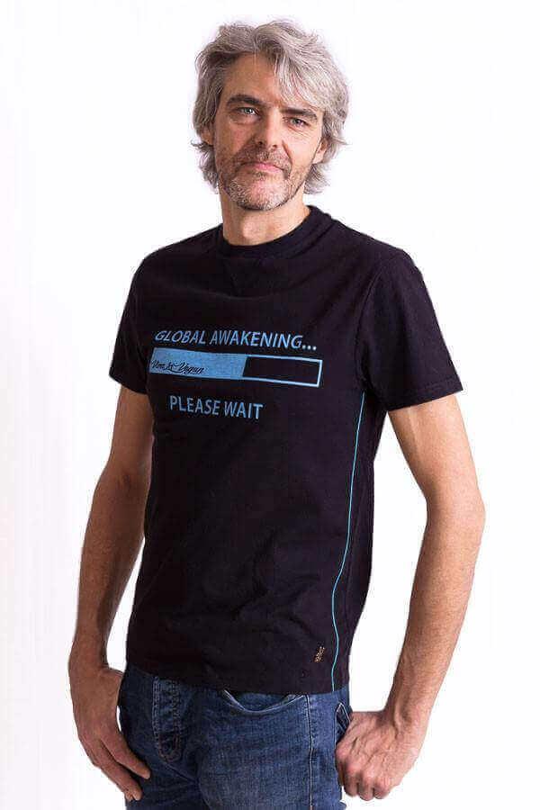 Unisex Vegan Tshirt : Global Awakening