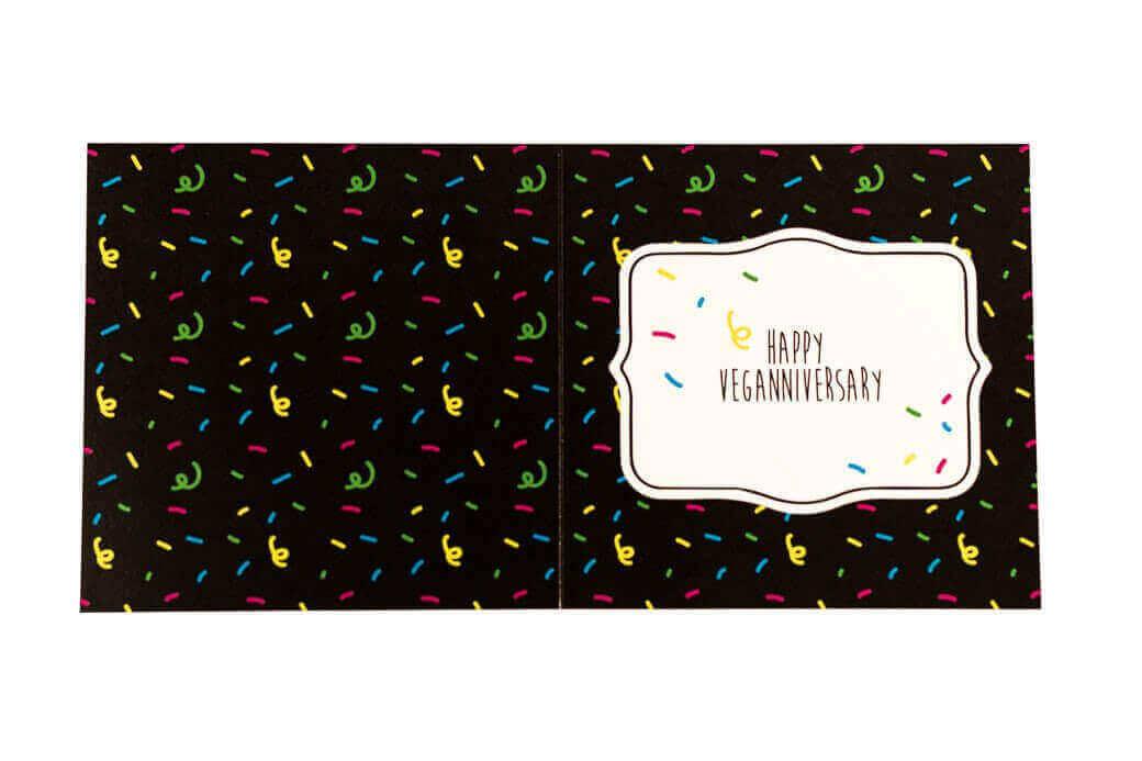Greetings Card: Veganniversary - Daisy
