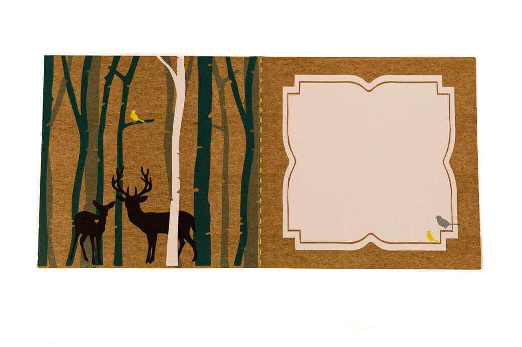 Greetings Card: Deerly Do