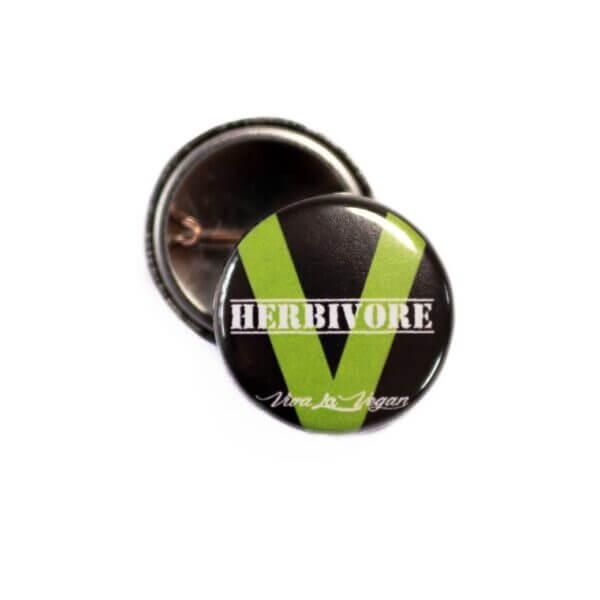 25 mm Statement Badge: Herbivore