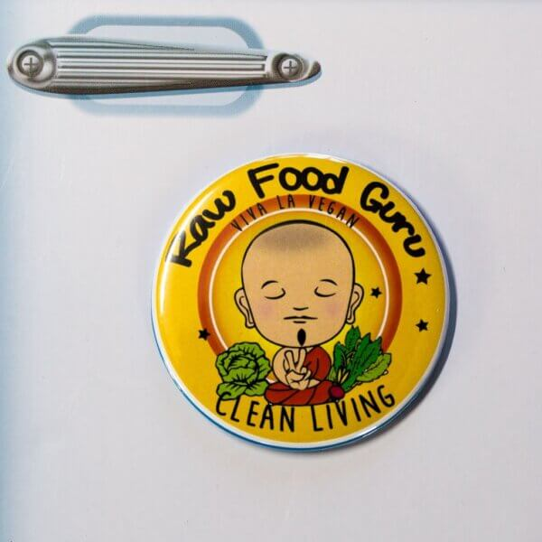 Fridge Magnet: Raw Food Guru- Clean Living