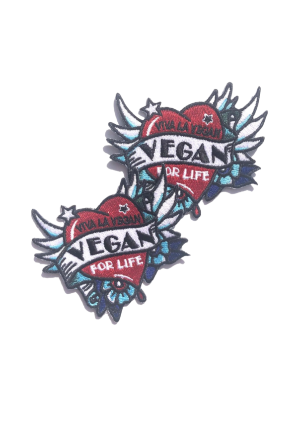 Embroidered Patch - Vegan Tattoo
