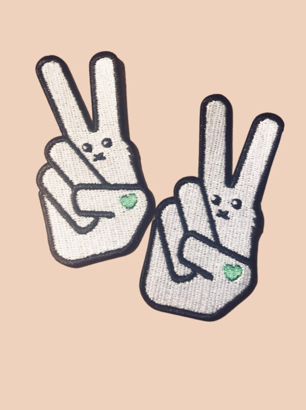 Embroidered Patch - VLV Logo Bunny
