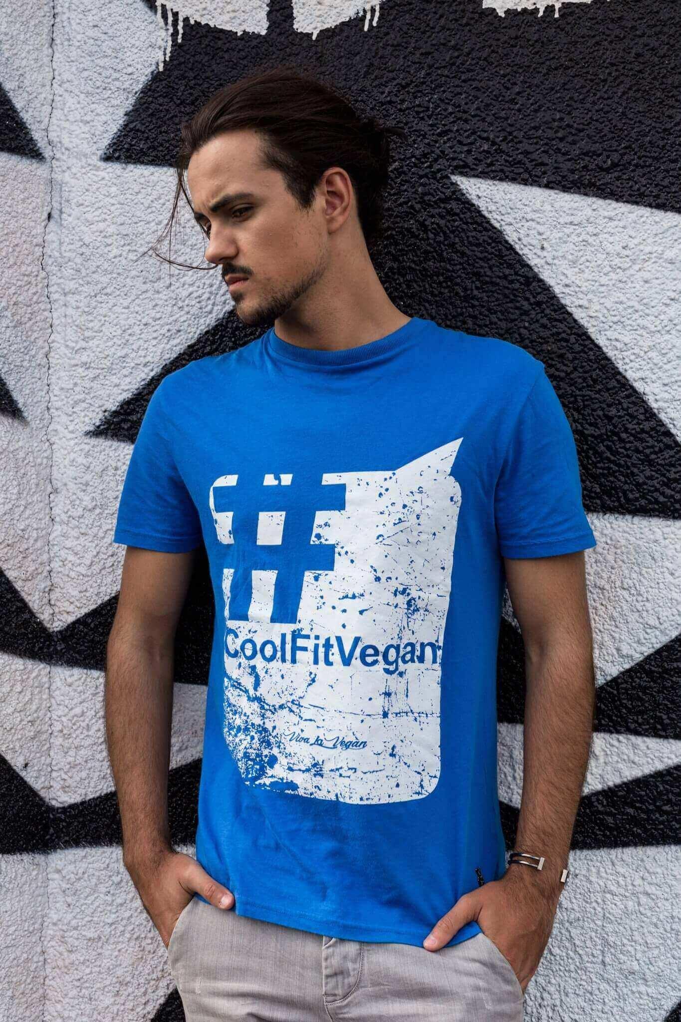 Men's / Unisex Vegan Tshirt : Hashtag