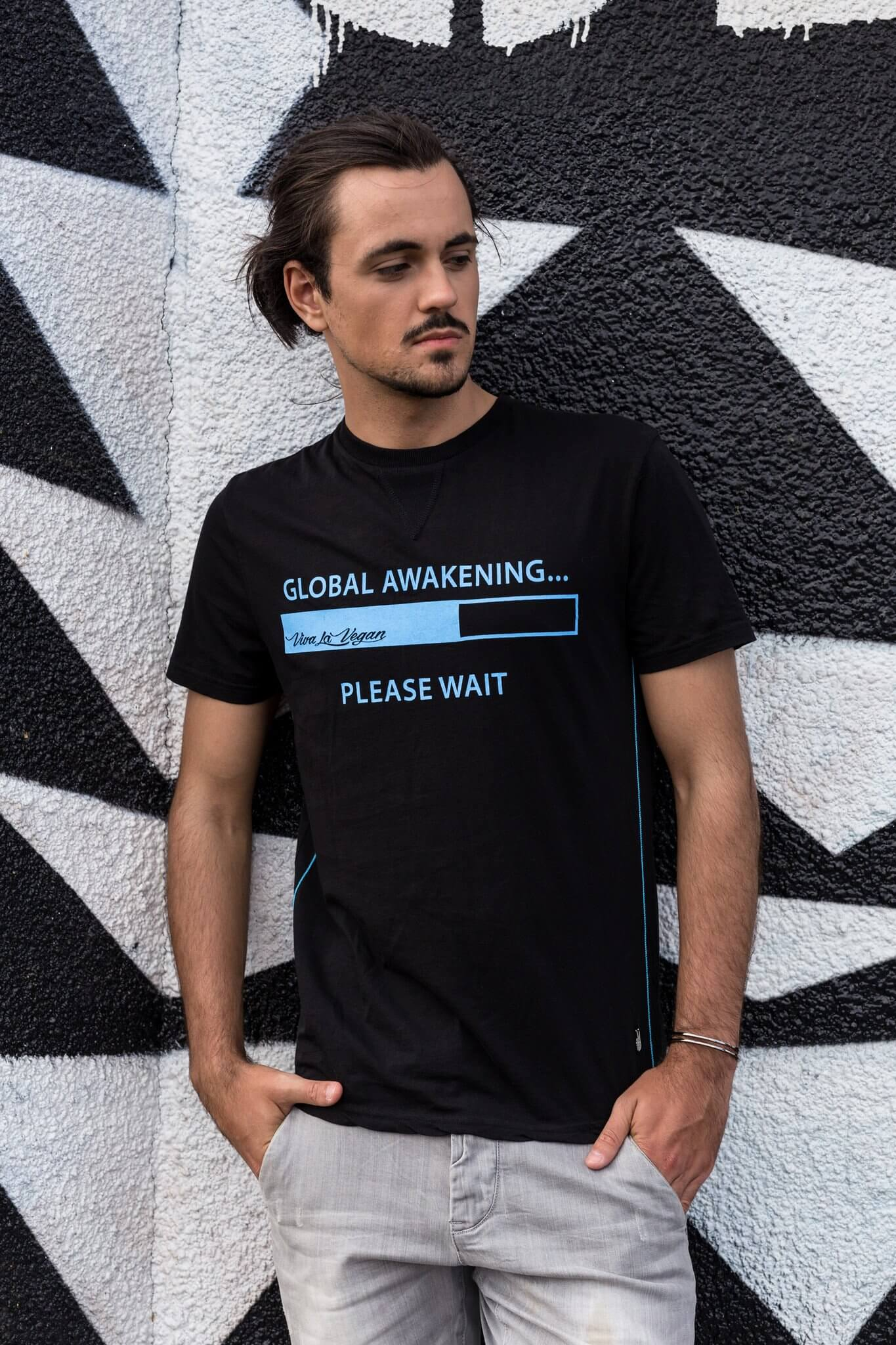 Unisex Vegan Tshirt : Global Awakening