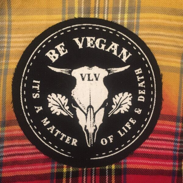 Printed Patch Round - A Matter Of Life & Death