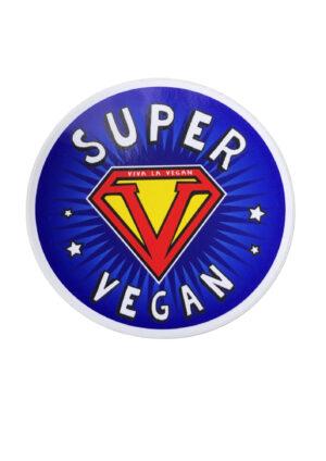 Vinyl Vegan Sticker - Super Vegan