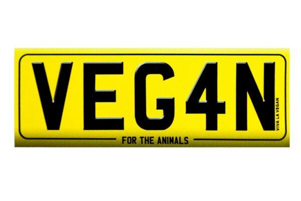 Veg4n sticker