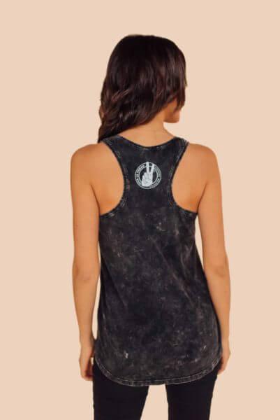 vegans rock vest back