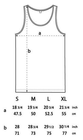 vest size spec