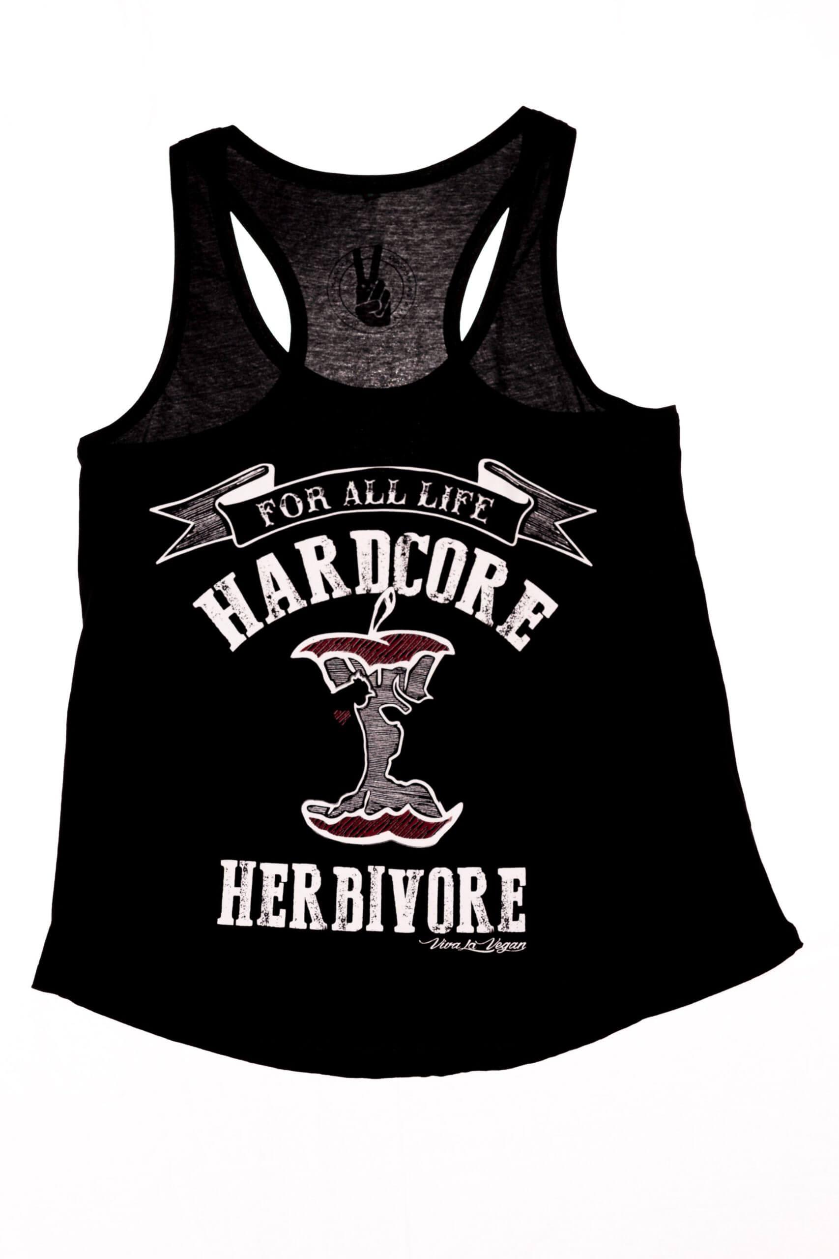 Women's Vest: Hardcore Herbivore RACER BACK