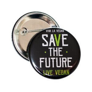 58mm Statement Badge: Save The Future