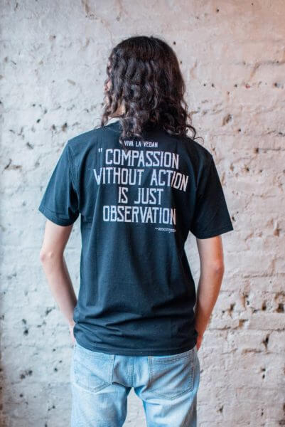 rebel with a cause t shirt back