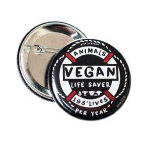 58mm Badge: Life Saver