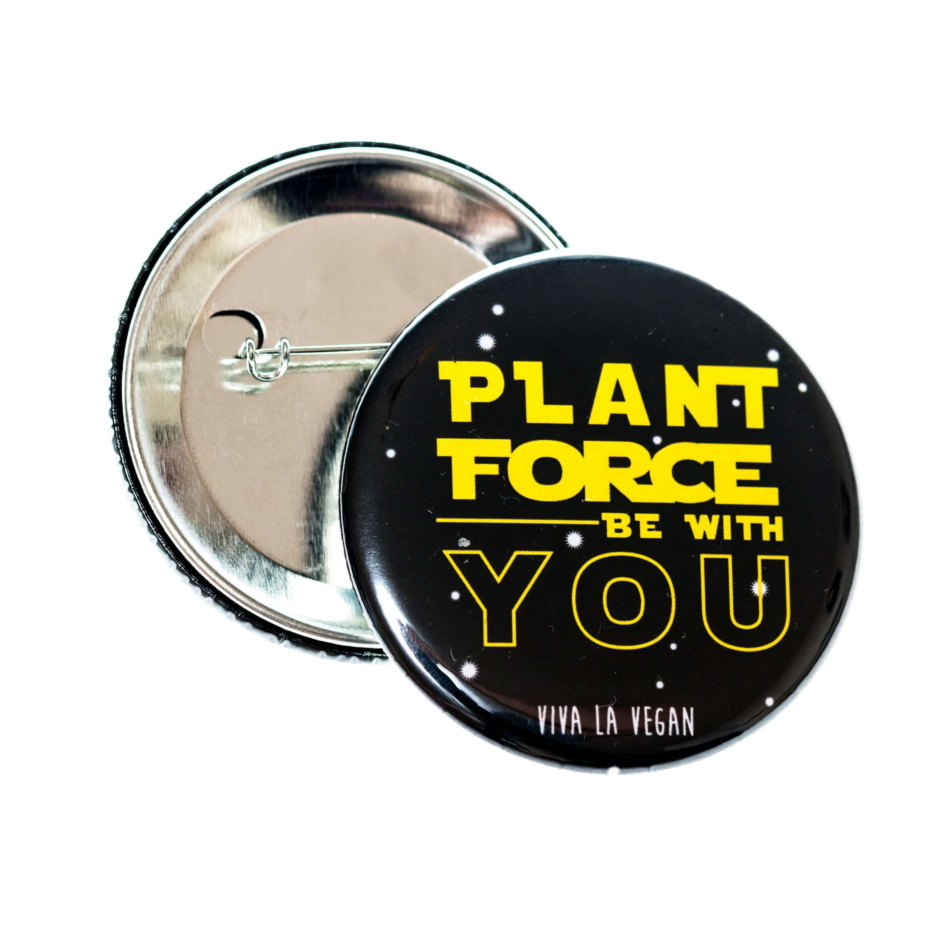 58mm Badge: Plant Force Be With You
