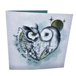 Greetings Card: Love You To The Moon And Back