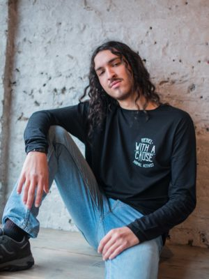 rebel with a cause longsleeve t shirt