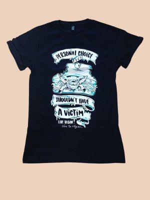 Personal choice vegan tshirt