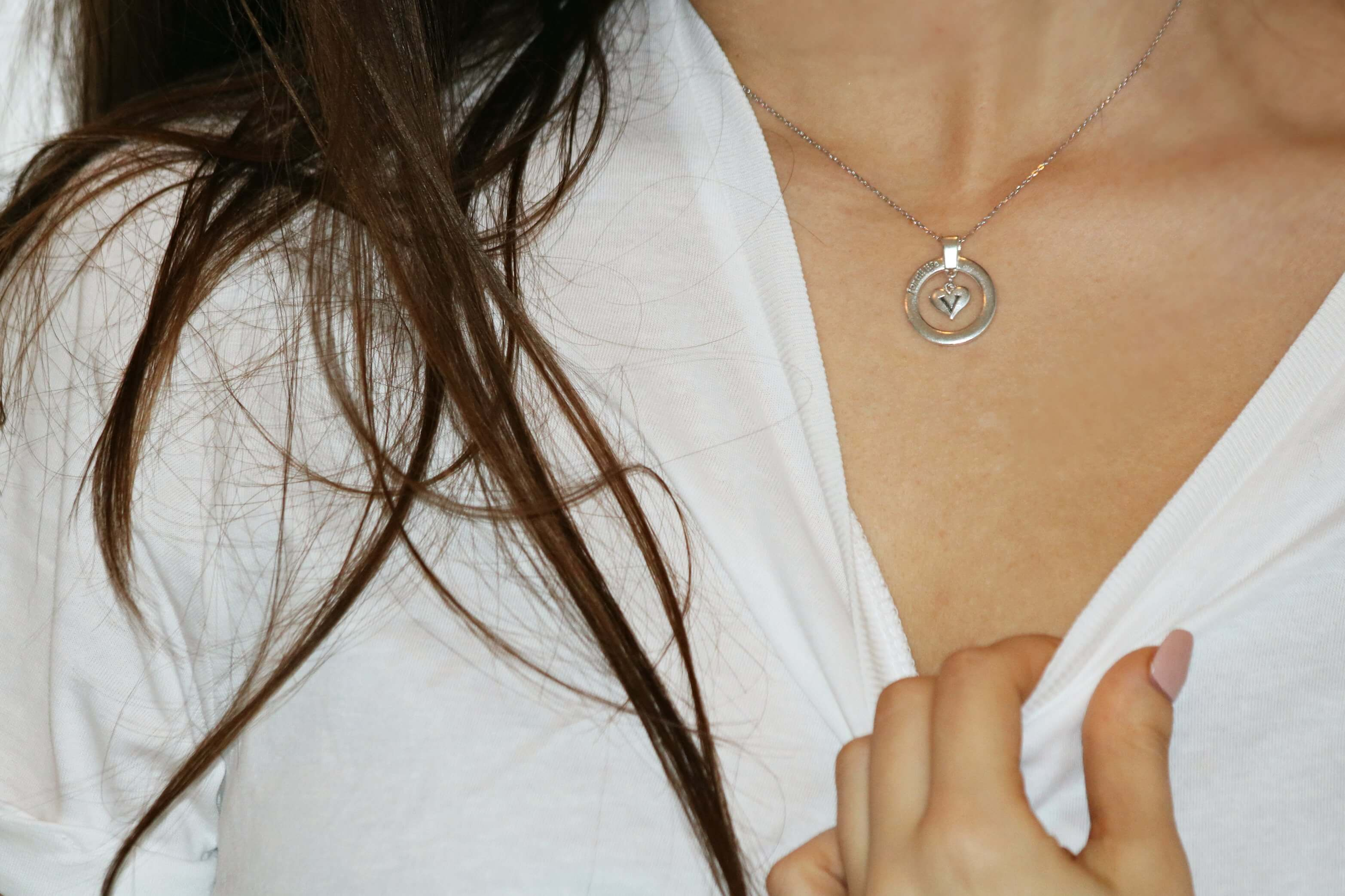 A Solid Silver Statement Necklace