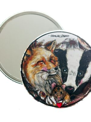 Pocket Mirror : Life Should Be Wild!