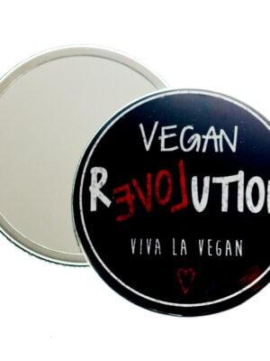 Pocket Mirror : Vegan Love Revolution