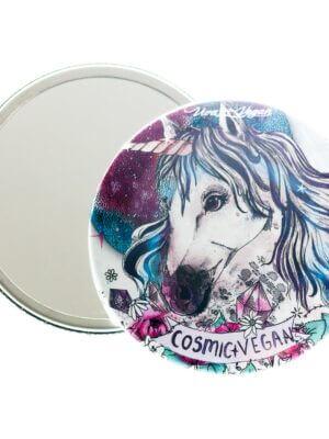 Pocket Mirror : Cosmic Vegan
