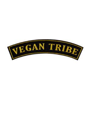 Vegan Tribe Wide Rocker Patch by eco-ethical brand Viva La Vegan