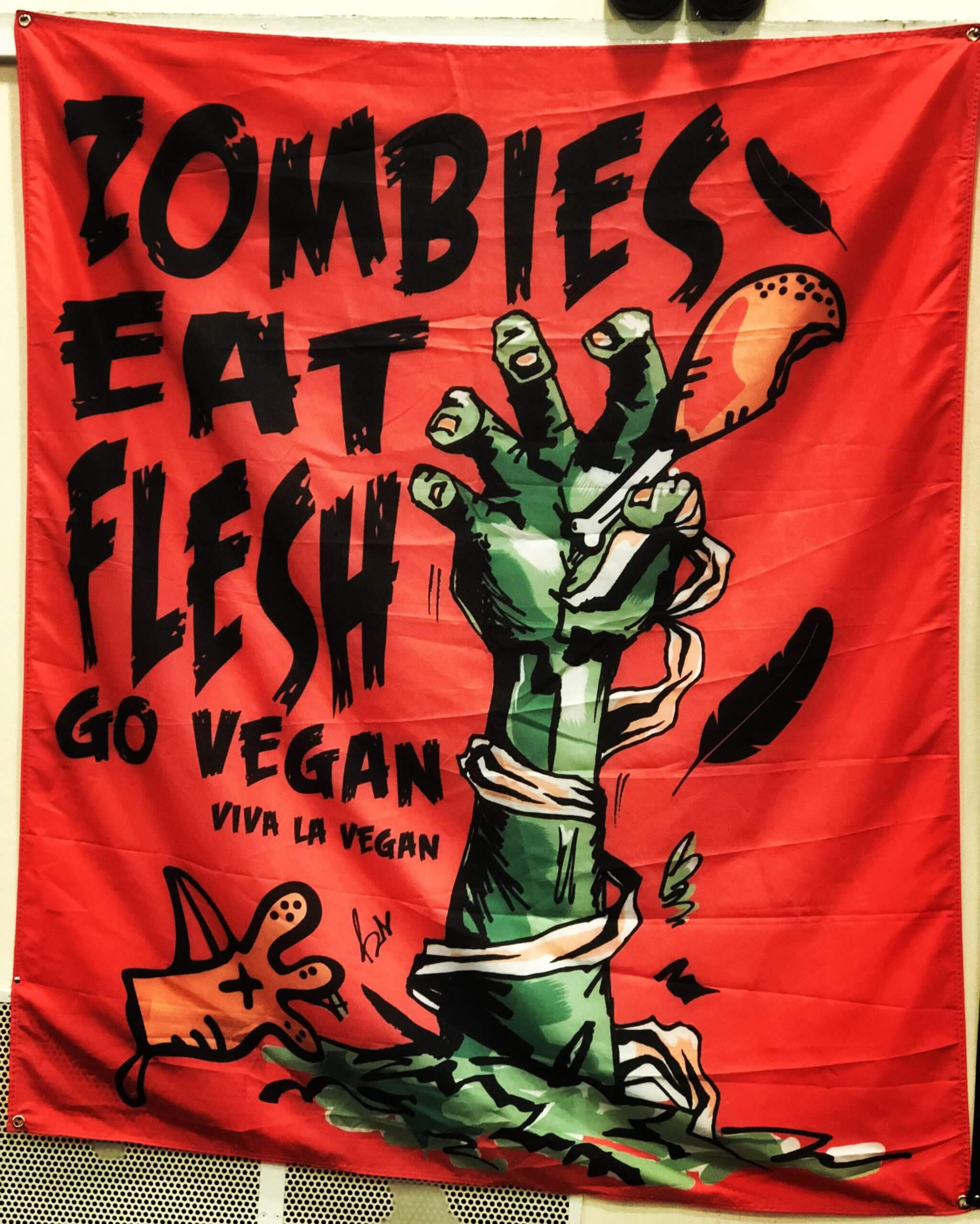 Statement Flag: Zombies Eat Flesh