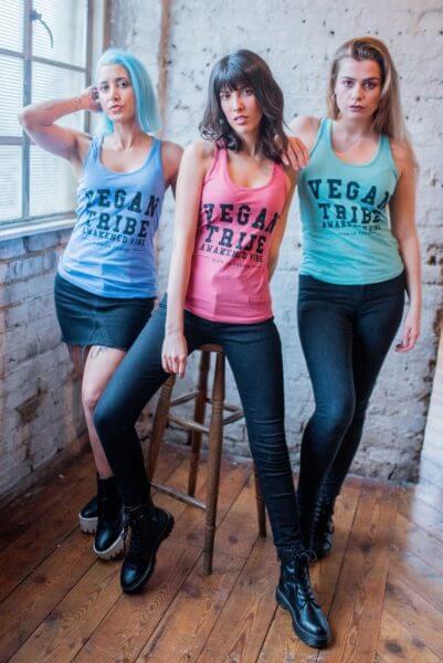 vegan tribe vests