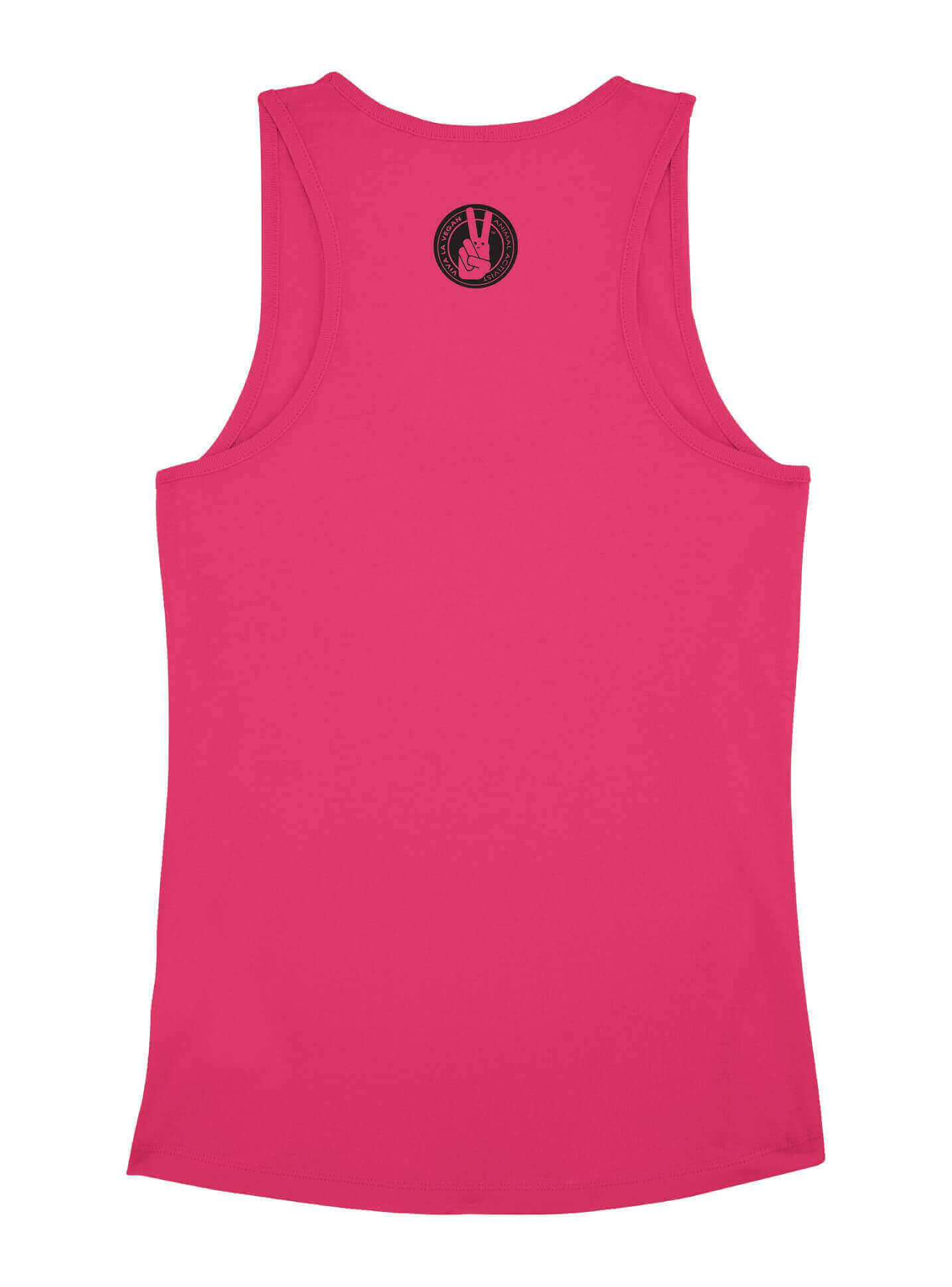 Women's Vest: Vegan Tribe: HOT PINK