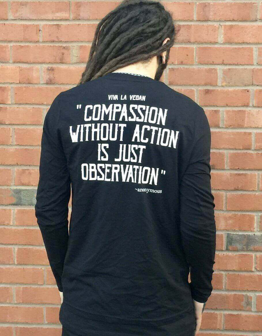 Unisex Tshirt : Rebel With A Cause LONG SLEEVE