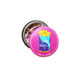 25mm Statement Badge: I Love Nooch
