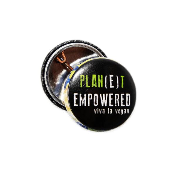 25mm Statement Badge: Planet Empowered