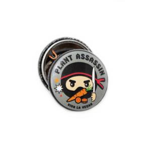 25mm badge plant assassin