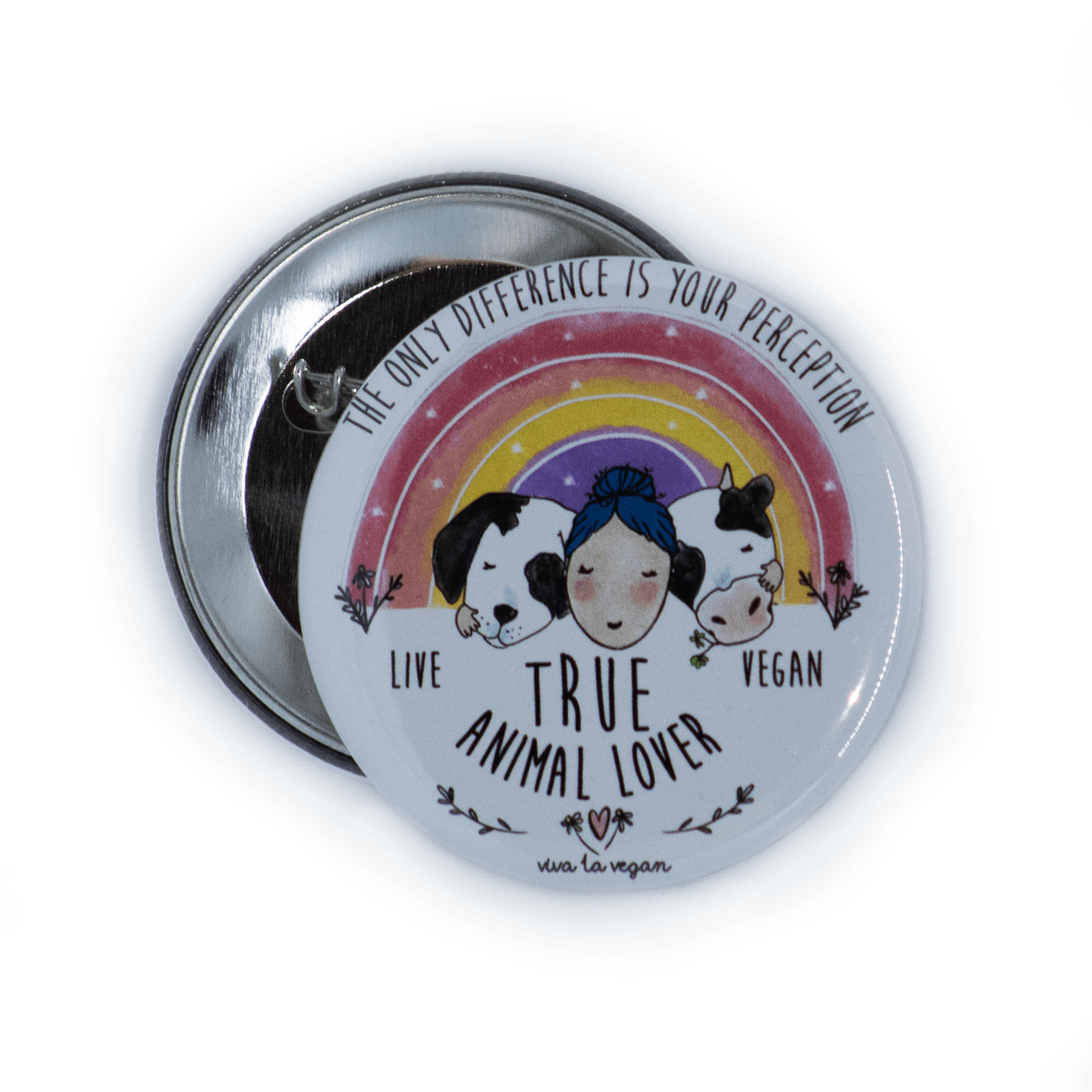 58mm Badge: True Animal Lover