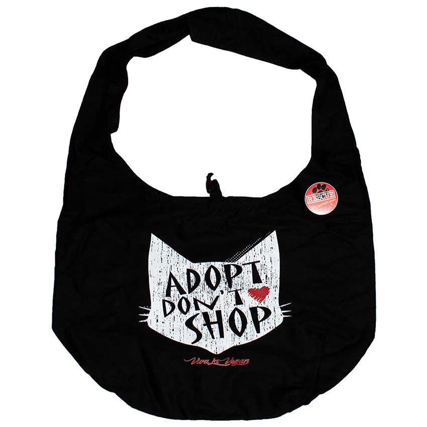 Adopt Don't Shop -  Organic Cotton Thai Monk Moon Bag: 53 x 38cm