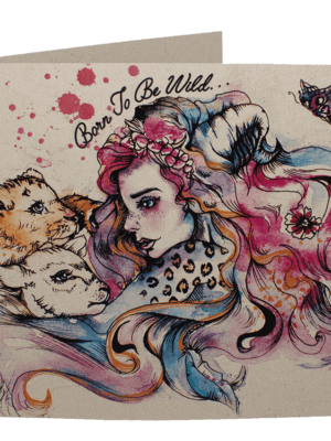 Greetings Card: Born To Be Wild