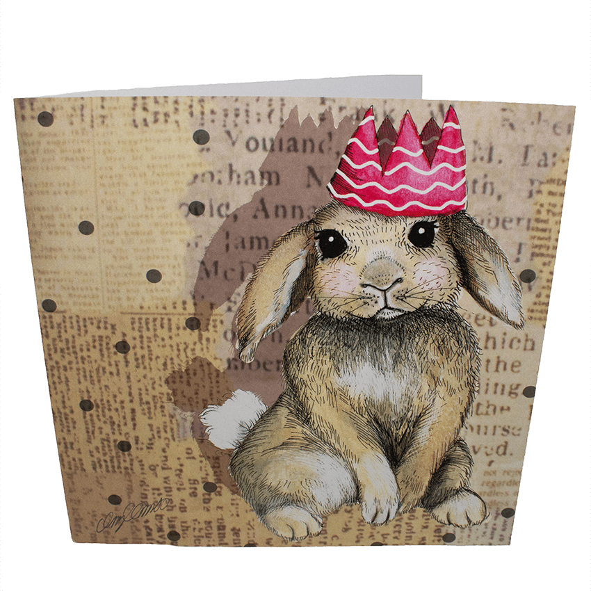 Greetings Card: Hoppy Birthday!
