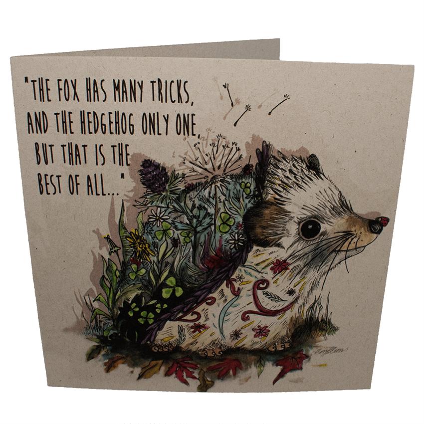Greetings Card: Bramble