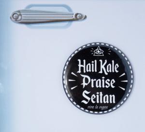 Fridge Magnet: Praise Seitan