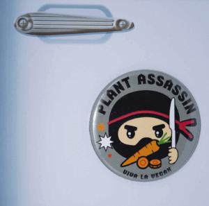 Fridge Magnet: Plant Assassin