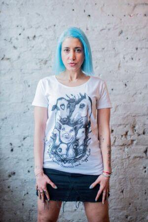 may our hearts vegan t shirt