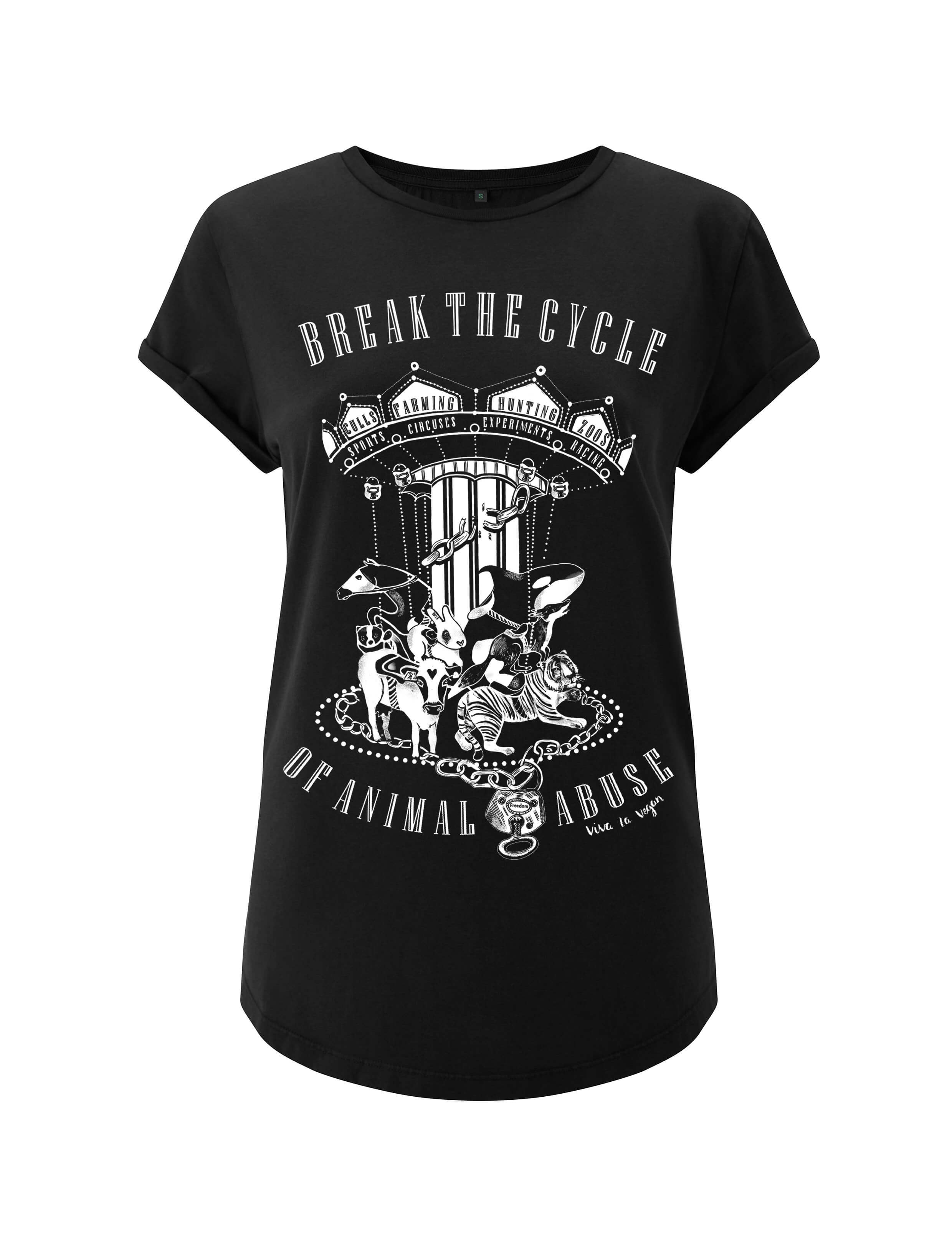 Women's Tshirt : Break The Cycle