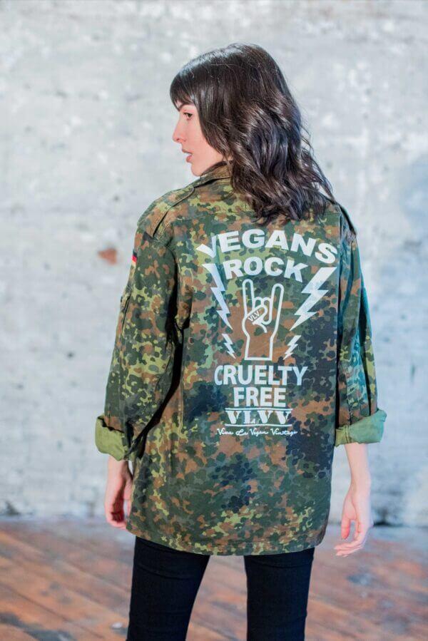 Reworked army surplus jacket