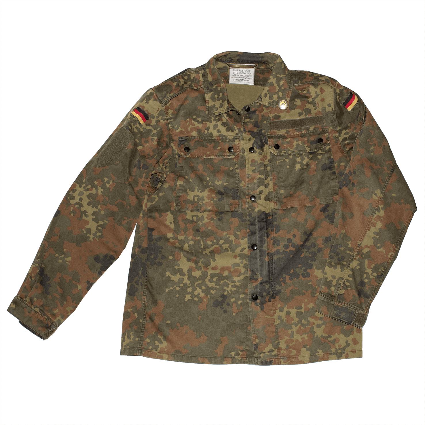 REWORKED VLVV: Army Surplus Camo : Vegan Army (unisex) Gold