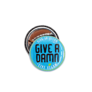 25 mm Statement Badge: Give A Damn