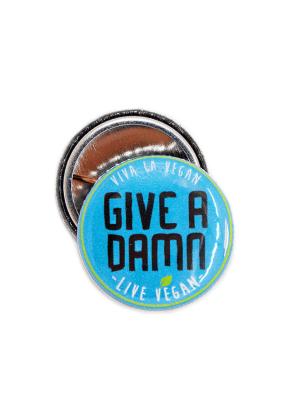 25 mm Statement Badge: Give A Damn