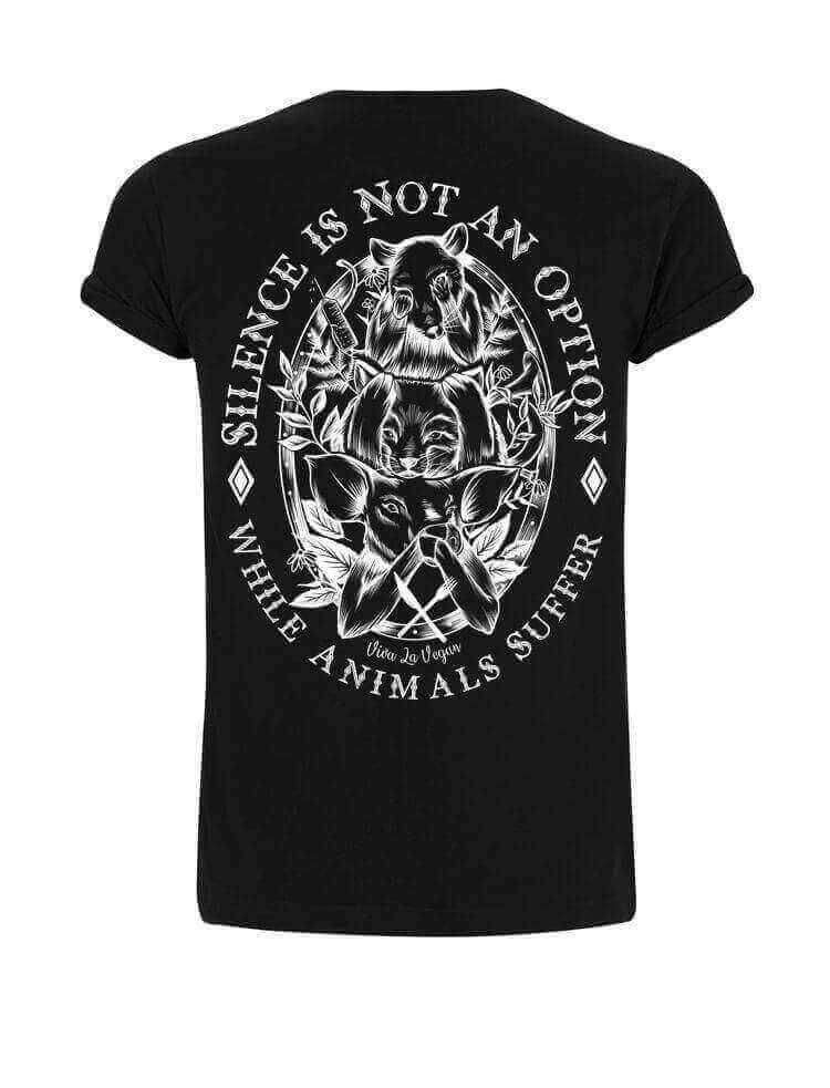 Unisex Tshirt : Silence Is Not An Option