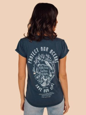 mermaid revolution t shirt back