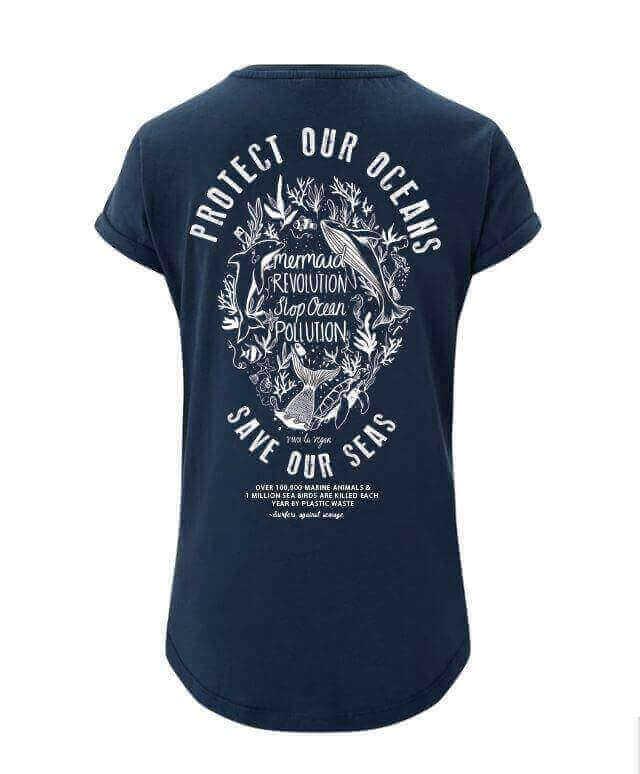 Women's Tshirt : Make Waves- Mermaid Revolution